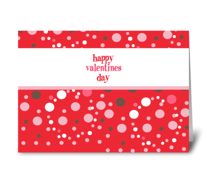 Happy Valentine's Day Card greeting card