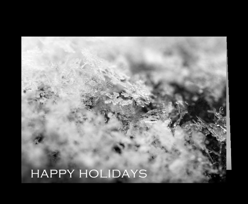 Happy Holidays (On Ice) greeting card