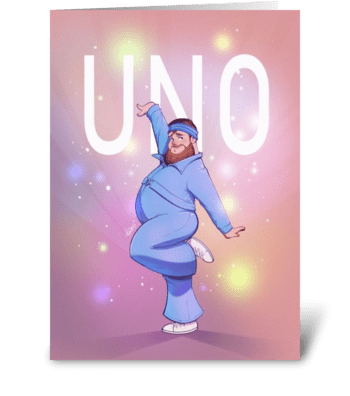 Little Big - Uno greeting card