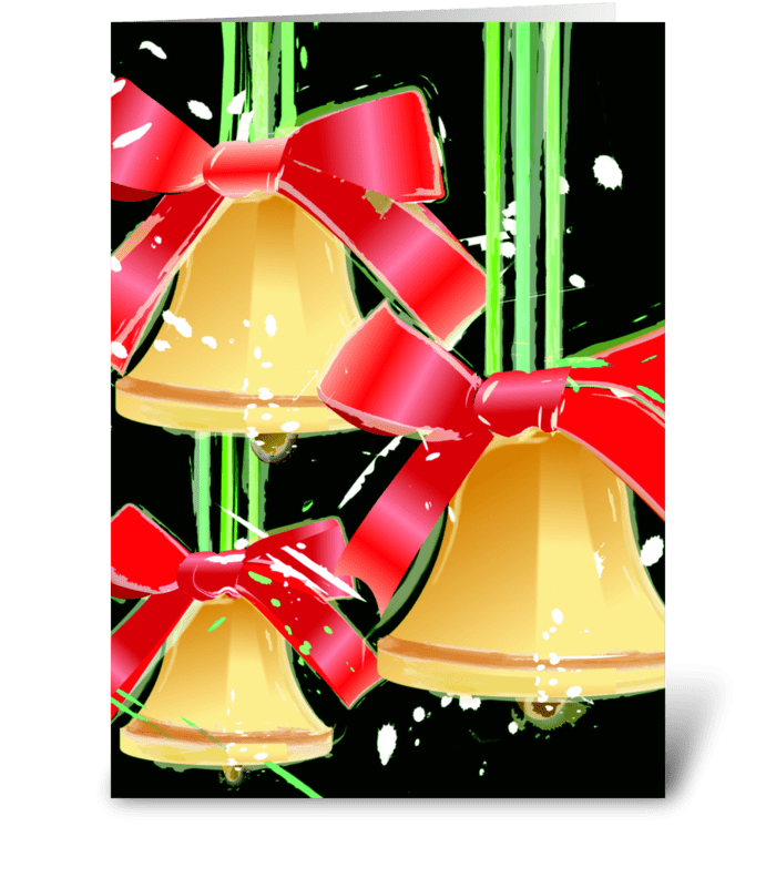 Christmas Joy and Happiness greeting card