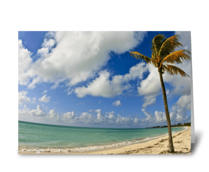 Grand Bahama Island greeting card