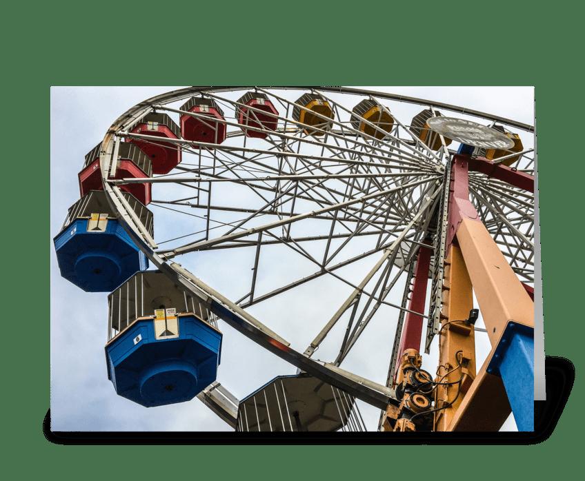 Elitch Gardens Ferris Wheel greeting card