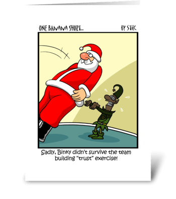 Christmas Trust greeting card
