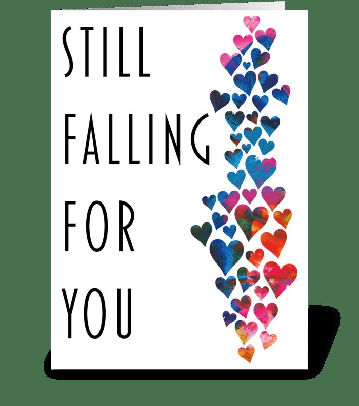 27 Anniversary card / Valentine's Day greeting card