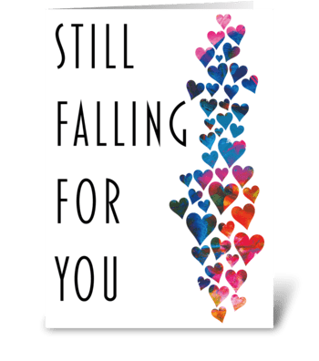 27 Anniversary card / Valentine's Day greeting card