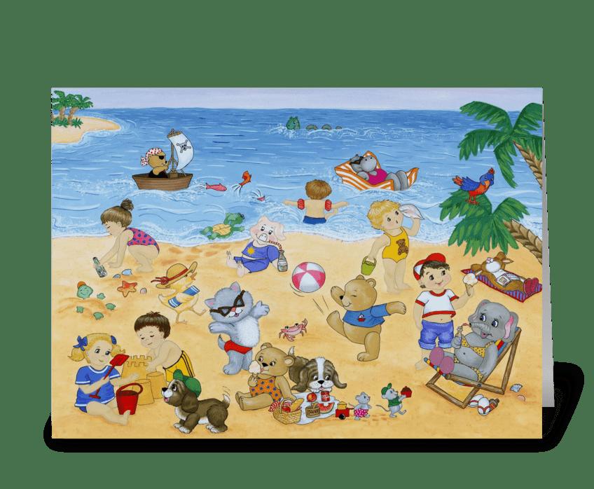 Seaside Magic greeting card