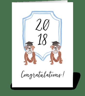 Congratulations Graduate greeting card
