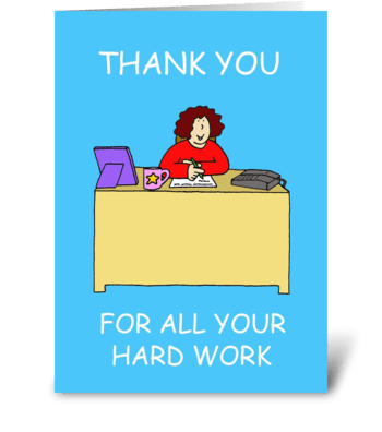 Administrative Professionals Day greeting card