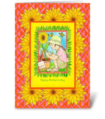 Mother's Day for Nurturing Mom greeting card