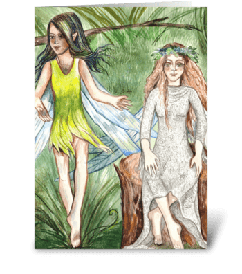 Fairy Friendship greeting card