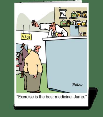 Take Your Meds We'll All Feel Better greeting card