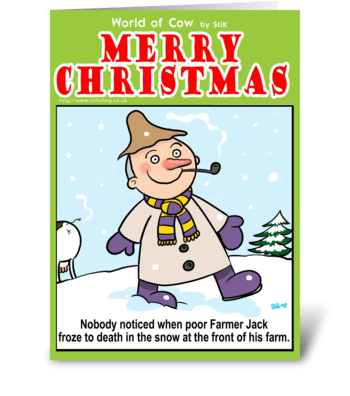 Farmer Jack greeting card