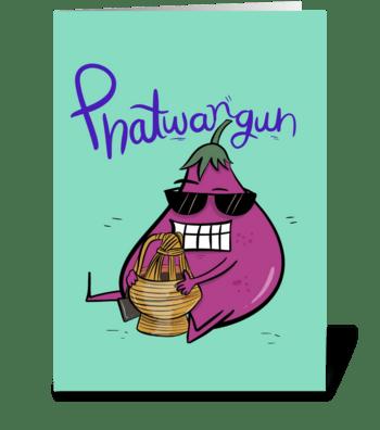 Phattwangun greeting card