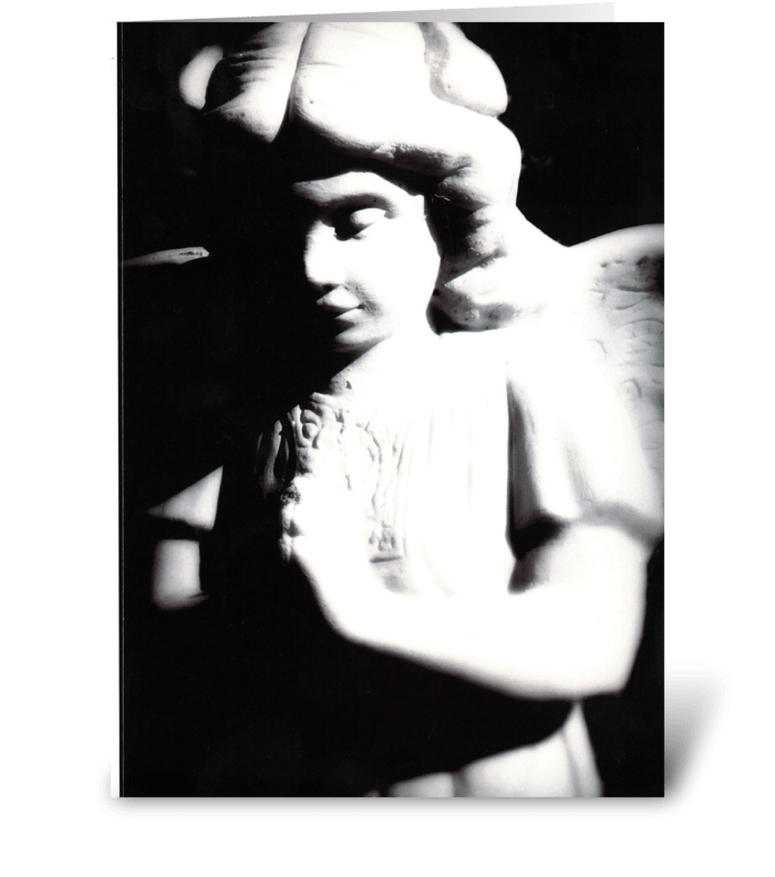 An Angel Watching Over You greeting card