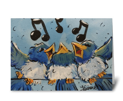 Make a Joyful Noise greeting card