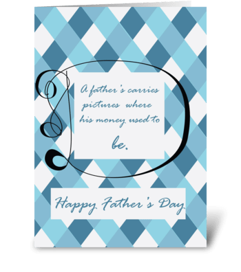 Picture Perfect greeting card