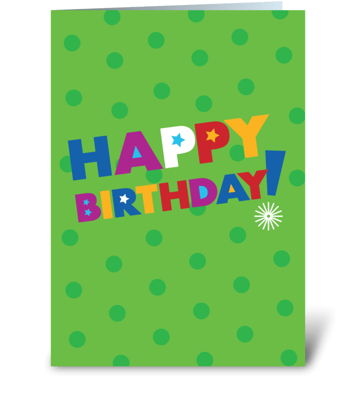 Birthday Celebration greeting card