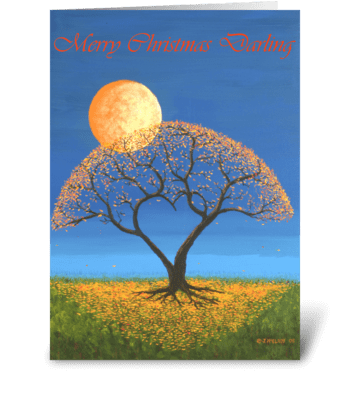 Falling For You This Christmas greeting card