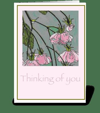 Estate greeting card