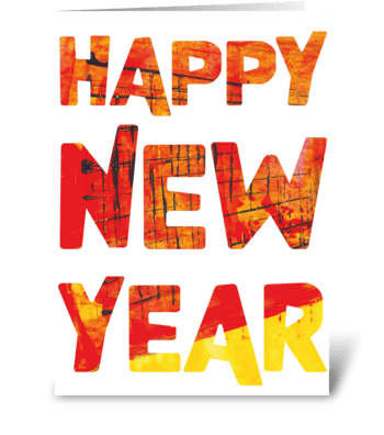 22 New Year card /Chinese New Year greeting card