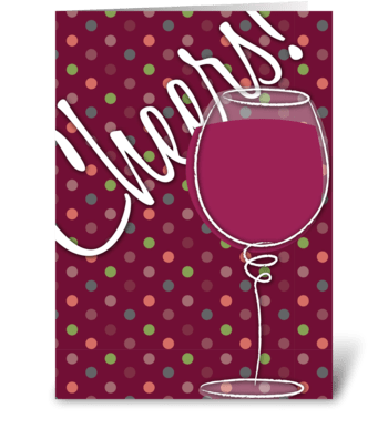 Retirement Cheers greeting card