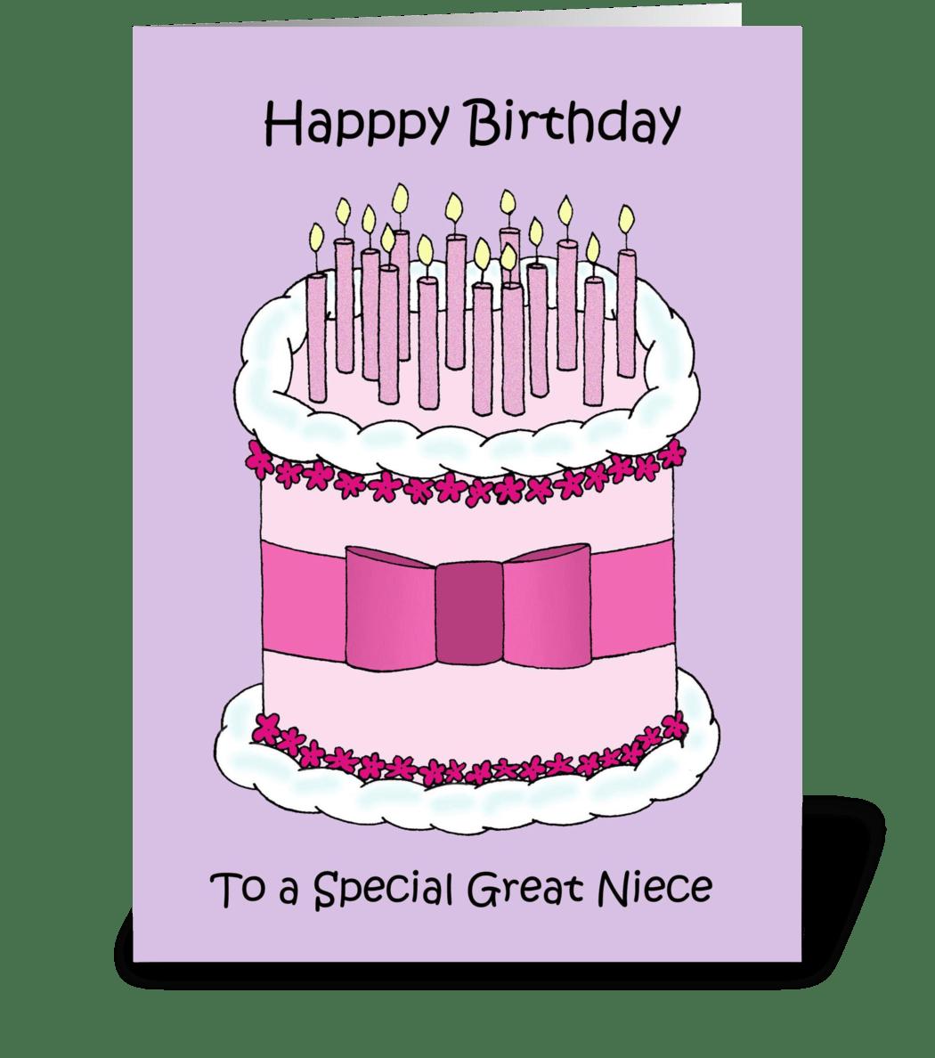 Happy Birthday To My Great Niece