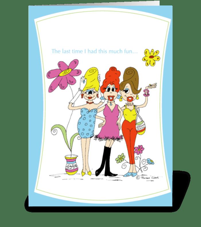 Beehive Friends greeting card