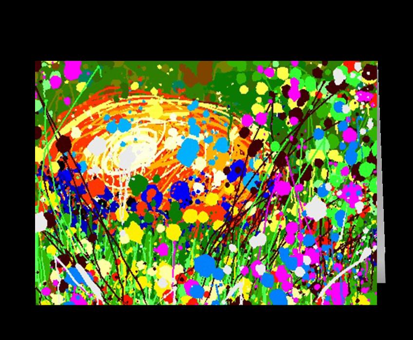 Easter Egg #1 greeting card