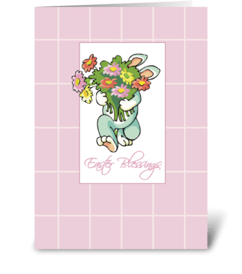 Bouquet of Easter Blessings  greeting card