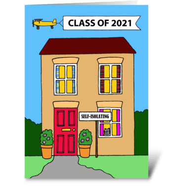 Graduation 2021 Congratulations greeting card