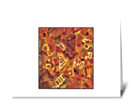 LET'S GET TOGETHER FOR COFFEE greeting card