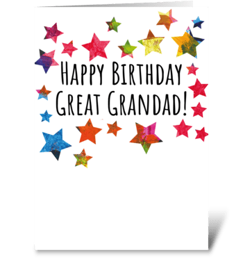 66 Great Grandad Birthday greeting card