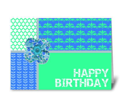 Birthday Wish come true greeting card