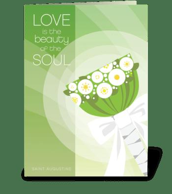 Wedding Love greeting card