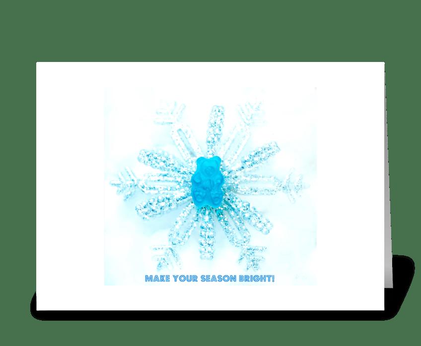 Make Your Season Bright greeting card