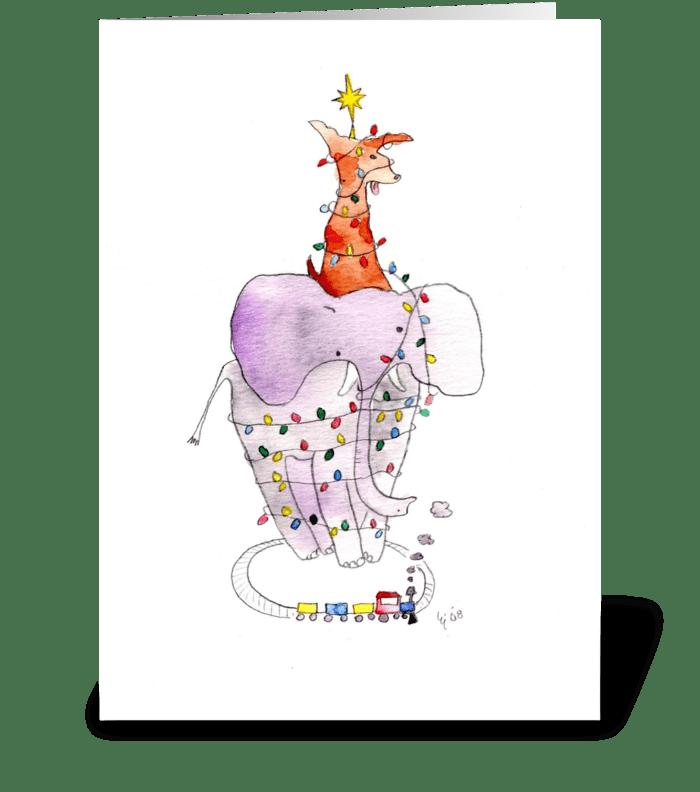 Christmas Mess greeting card