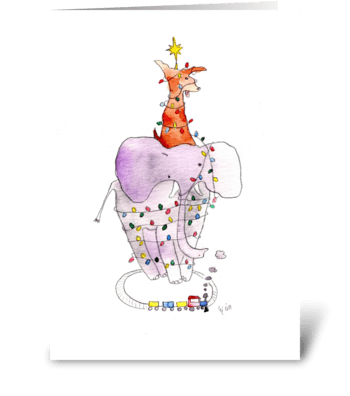 Christmas Mess greeting card