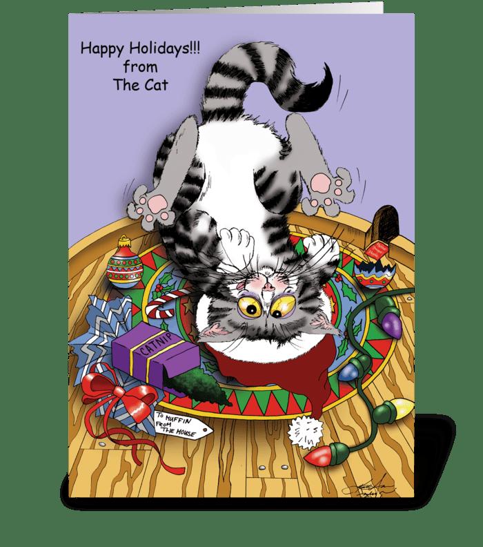 Visions of Sugar-Mice greeting card