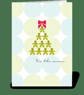 'tis the season greeting card