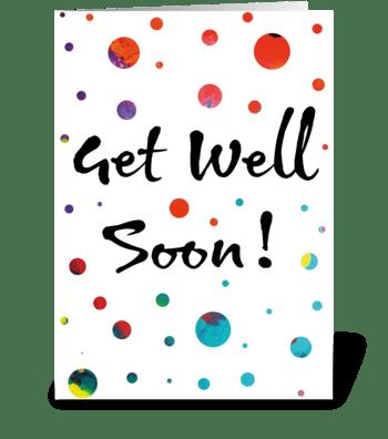 6 Get Well Soon Card greeting card