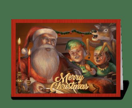 Christmas_2 greeting card
