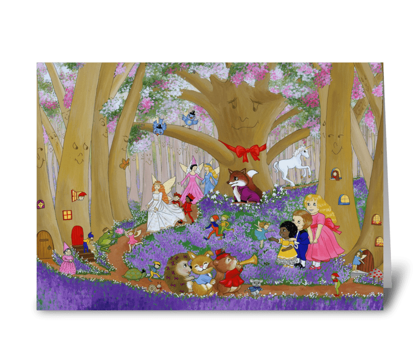 One Magical Afternoon greeting card