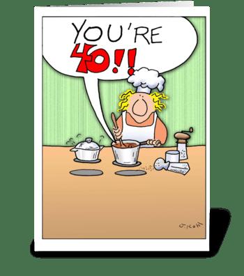 Reputable Sauce-40 greeting card