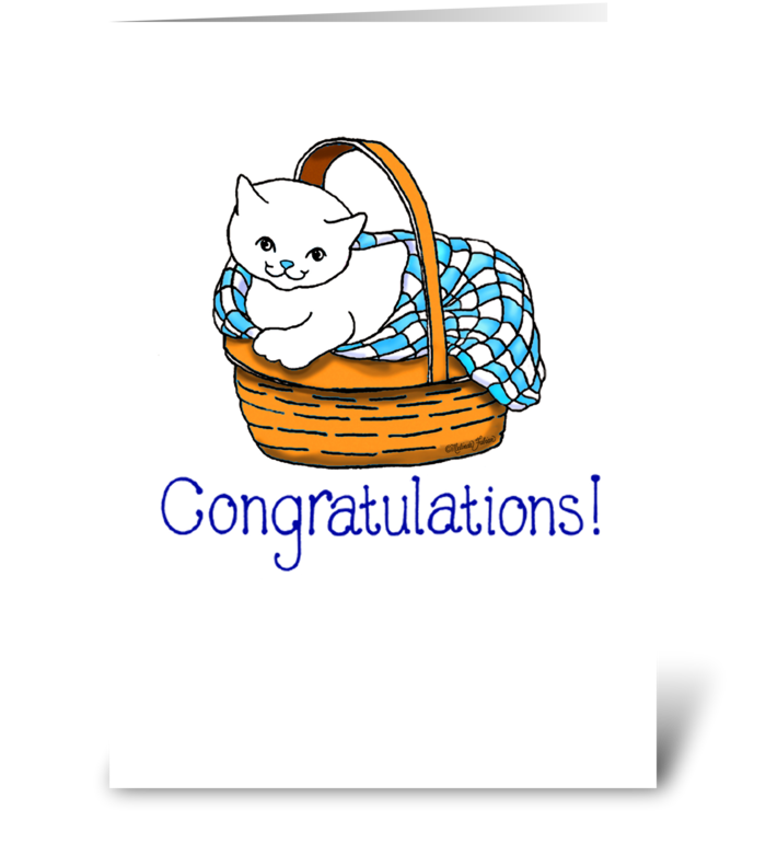 Congratulations! greeting card