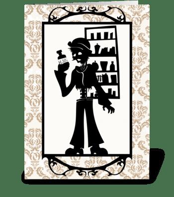 Johhny  greeting card