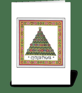 *CHRISTMAS* greeting card