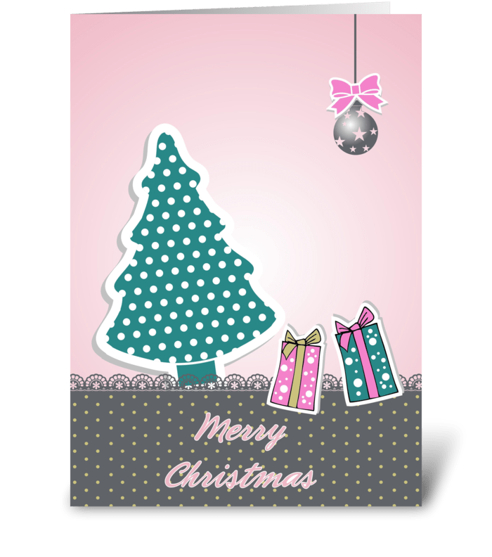 Christmas Greeting Cards Design.Lovely Christmas