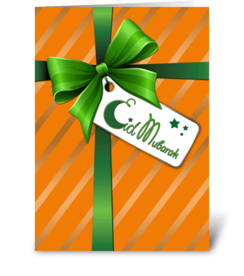 The Gift of Eid greeting card