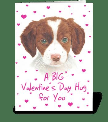 A BIG Hug  greeting card