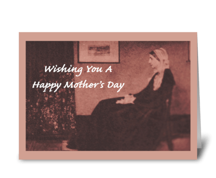 Wishing You A Happy Mother's Day greeting card